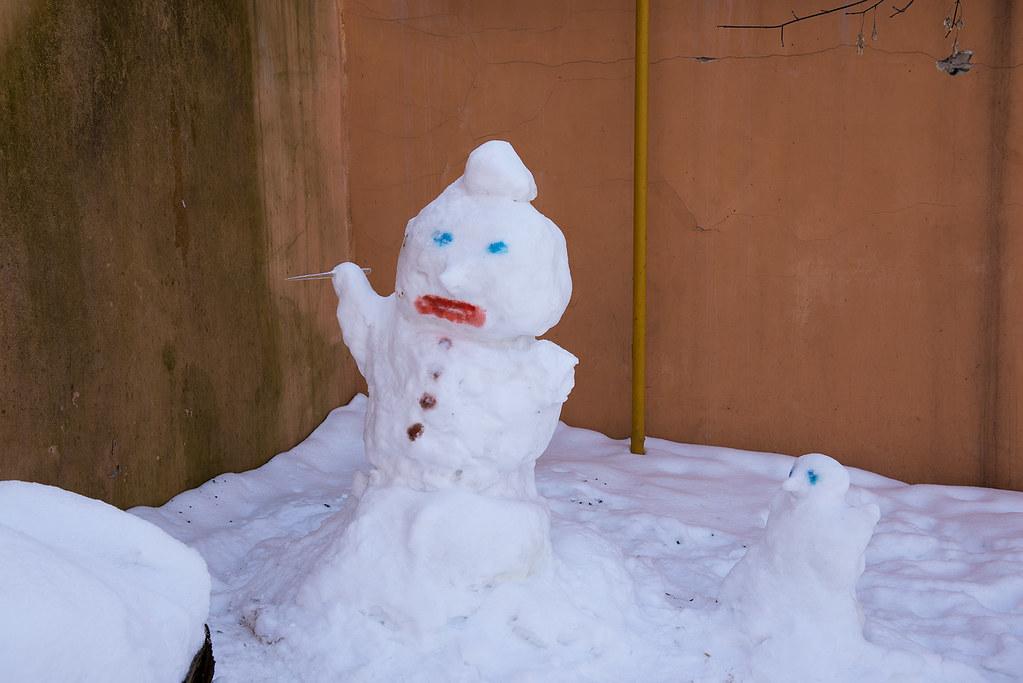 фото: Snow man