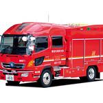 消防自動車用CFRPハイルーフの写真