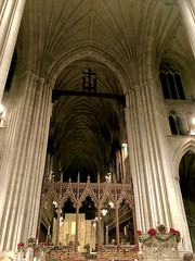 Christmas lessons and carols at the National Cathedral (garden beth) Tags: washingtonnationalcathedral nationalcathedral cathedrals buildings christmas