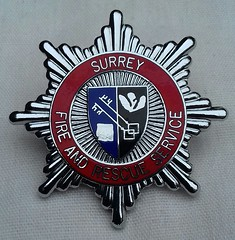 Surrey Fire and Rescue Service Cap Badge 1991-1999 (Lesopc) Tags: surrey sfrs fire rescue service brigade cap badge logo 1991 1992 1993 1994 1995 1996 1997 1998 1999 uk