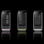 携帯電話の写真