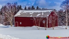 On the back roads of Stowe Vermont. (The Origional New England Photography) Tags: farm gostowe newengland newenglandphotography snow stowe stowevermont vermont vermontlandscape winter winterinvermont