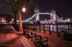 Tower bridge at night (_Jon Benham_) Tags: thames river night longexposure lowlight urban cityscape city towerbridge london