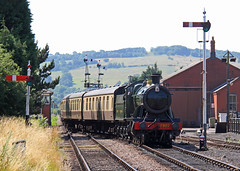 GWR (Treflyn) Tags: great western railway gwr 28xx 2800 class 280 heavy freight locomotive 2807 toddington gloucestershire warwickshire