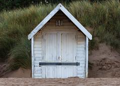 Wells Next The Sea Beach Hut... (Lady Haddon) Tags: beachhut wellsnextthesea norfolk beach uk england 100mm
