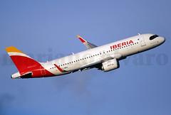 "A320 Neo ""Patrulla Águila"" (Mariano Alvaro) Tags: airbus a320 251 neo ecmxu patrulla aguila madrid barajas paris orly"