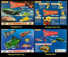 Thunderbirds Package (MayorPaprika) Tags: matchbox thunderbirds lgv20 lgvs995 mini figs figure paprihaven pvc miniature smallscale figurine diorama toy story scene custom bricks plastic vinyl