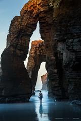 CAMINOS (yorxca) Tags: españa galicia catedrales lugo invierno mar sea winter roca stone canon canon5dmarkiii arena sand silencio naturaleza nature ocean atlántico cantábrico