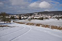 L'hiver... à la trace (Excalibur67) Tags: nikon d750 sigma globalvision art 24105f4dgoshsma paysage landscape ciel cloud sky nature neige snow chemin arbres trees