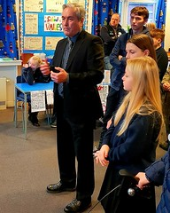 At Aberlady primary's mock elections