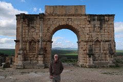2019-012824 (bubbahop) Tags: 2019 moroccotrip meknes morocco roman ruins volubilis archaeological site triumphal arch bubbahop jacket