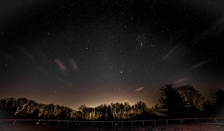 Fence Under Orion