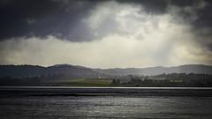Shower across the Inner Moray Firth (prajpix) Tags: redcastle blackisle morayfirth rosshire highlands scotland water sea tidal firth fjord estuary coast coastal rain shower precipitation rainfall clouds field green wet landscape seascape weather misty sky atmosphere atmospheric