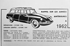 1959-1962 CITROËN ID 19 Break (Advert Detail) (ClassicsOnTheStreet) Tags: citroën id 19 19f break 1959 id19 id19f citroënid idfamiliale idbreak familiale station stationcar stationwagen stationwagon wagon estate kombi combi snoek strijkijzer deesse 50s 1950s flaminiobertoni andrélefèbvre bertoni lefèbvre classiccar classic oldtimer classico oldie klassieker veteran amsterdam 2019 zww blw copy kopie reproductie reproduction advertentie werbung publicity advertisement jandelange elmar 1992