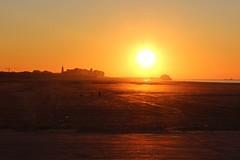 Blankenberge Silhouette (Brian Aslak) Tags: blankenberge sunset zeebrugge westvlaanderen vlaanderen flanders flandre belgië belgium belgique europe northsea noordzee nordsjøen coast beach merdunord