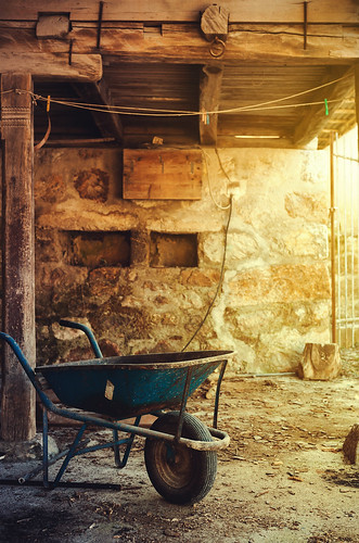 Village Life Under the Balcony