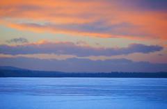 Frigid Color (stevenbulman44) Tags: cold ice snow landscape color pink blue reservoir calgary winter alberta sky cloud sunset canon lseries 70200f28l outdoor