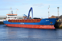 Bekau - Ayr - 16-02-19 (MarkP51) Tags: bekau ayr scotland ship boat coaster vessel nikon d7100 d7200 nikon70200f4vr nikonafp70300f4556fx kodachromeii slide film scan d500 sunshine sunny maritimephotography