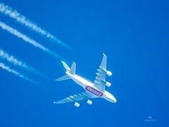 Emirates EK128/UAE54J VIE-DXB Calibratef alt. 8.872m Ground speed 913km/h A6-EOH A380-861 (sab936) Tags: planespotting a380 airbuslovers airbusphoto emirates airbusa380 highlevel aero aircraftphotography