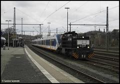 RTB V158 + NS SLT's 2401 & 2616 // Bahnhof Herzogenrath (Loco Locon) Tags: loco locon trein train overbrenging rtb g1206 v158 nsr slt 2401 2616 herzogenrath