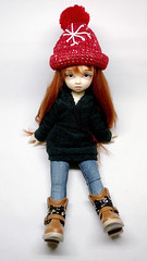 Winter Hat (malvinas) Tags: yosd volks volksyosd volkskun kun yosdkun angeltoast balljointeddoll dolls volksdoll