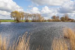 A lake in the polder (jan.vd.wolf) Tags: cloud clouds eempolder landschap landscpape polder thenetherlands wolken baarn utrecht nederland nl