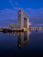 A0193429 (rpajrpaj) Tags: amsterdam cityscape nederland nederlandvandaag netherlands city sunrise bluehour thebluehour