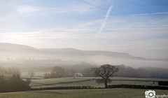 Hay Bluff (Mike House Photography) Tags: black mountains landscape photography brecon beacons view panorama hills walks hiking outdoors sunny bright brisk morning glow blue sky grass trees valley clouds white