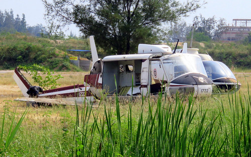 1722 / Bell 205A-1 / cn 30224 / Camp Naresuan / Hua Hin / 30Dec18 /