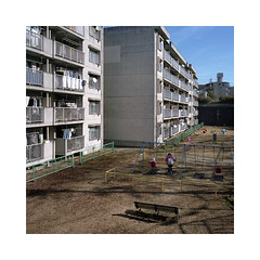 (roberto_saba) Tags: mediumformat 6x6 120 mamiya mamiya6 50mm f4 ブローニー fujicolor fujifilm fuji 400h japan nagoya playground