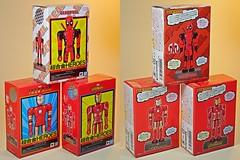 Bandai – Chogokin Heroes Series – Iron Man Mk 3, Deadpool & Iron Man Mk 50 – Box Art Front & Back (My Toy Museum) Tags: bandai marvel heores diecast chogokin action figure iron man deadpool