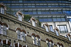 Old Brick, New Glass (garryknight) Tags: creativecommonsattribution40 sony a6000 on1photoraw2018 london creativecommons ccby40 building architecture brick glass old new