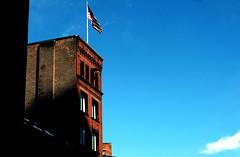 Boston, MA (dangaken) Tags: bos bostonma ma mass massachusetts boston bluesky winter newengland eastcoast maritime harbor ne faneuilhall americanflag americana newenglandwinter cold travel usa