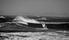 danse avec les éléments (alexis-doublier) Tags: or windsurf bw sea surf wave brittany france 5diii lampaulploudalmezeau ploudalmezeau finistere storm