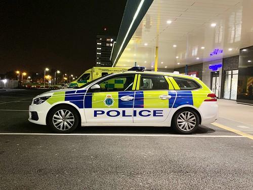 Merseyside Police Peugeot