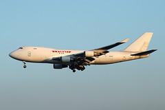 Kalitta Air   B747-481(F)(SCD)      N401KZ (Globespotter) Tags: frankfurt main kalitta air b747481fscd n401kz