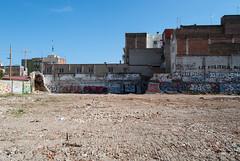 Urban Landscape I (dressk) Tags: barcelone barcelona spain catalonia city urban landscape graffiti europe nikon d40x nikond40x house architecture art concrete