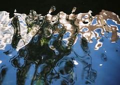 no title (biancarosa.looman) Tags: analog handheld reflection water abstract canon kodakfilm arnhem
