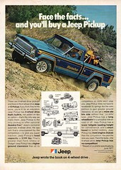1978 AMC American Motors Jeep J-10 Pickup 4WD USA Original Magazine Advertisement (Darren Marlow) Tags: 1 7 8 9 1978 19 78 a american m motors amc j jeep j10 p pickup t truck c car cool collectible collectors classic automobile v vehicle u s us usa united states ameica 70s