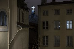 . (Le Cercle Rouge) Tags: lyon france croixrousse darkness light church streets rues