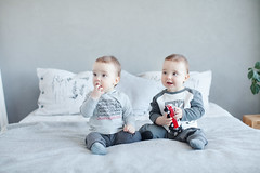 Misha and Lev (Yulchonok) Tags: twins boy children canon people