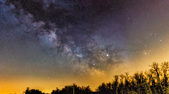– First Milky Way Panorama in this year – (tigerz1995) Tags: hungary panorama milky way milkyway astro astronomy astrophotography amateurastronomy skywatcher staradventurer sa canon stars starrynight tracked sigma 50mm 14 art