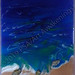 ''Sweeping Shells'' by Lynette A, resin/acrylic, $30.00