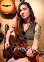 Zoe Zobrist 01/25/2019 #8 (jus10h) Tags: zoezobrist singer songwriter artist musician losangeles taylor guitar guitars namm show showroom 2019 justinhiguchi orange amplifiers