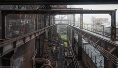 Abandoned  steel plant (trip_mode) Tags: abandoned urbex decay urban exploration plant hall trespassing industrial steel works blast furnace fog