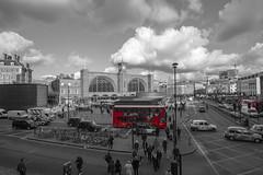 buses (virtual-stu) Tags: london bus kingscross city uk england iconic taxis taxi