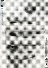 Typographic and Halftone Posters (18048010) Tags: poster red blackandwhite colourscheme font text russian newspaper closeup crop overlap promotional