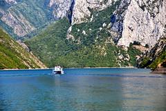 Komani Lake (Элвин Ваутерсе) Tags: komani lake tourism boats river cruise transport albania tourist travel europe europa skylinestudio elwinw nikon d3100 water clear view mountain mountains cliffs green blue holiday alb drin drinriver berisha ferry liqeni komanit 阿爾巴尼亞 アルバニア албания