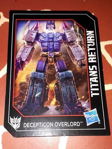Decpticon Overlord -with/mit Dreadnaut Titanmaster - Titans Return Serie ☆☆☆