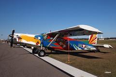 170408_109_SnF_N156PC (AgentADQ) Tags: sun n fun flyin expo air show airshow airplane plane aviation 2017 lakeland florida pilatus pc6 porter n156pc